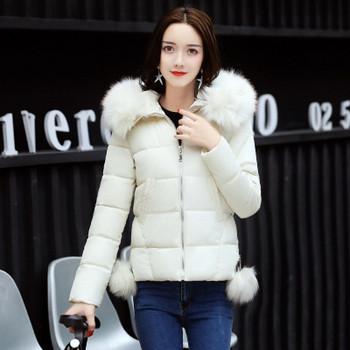 Стилно дамско зимно яке в няколко цвята