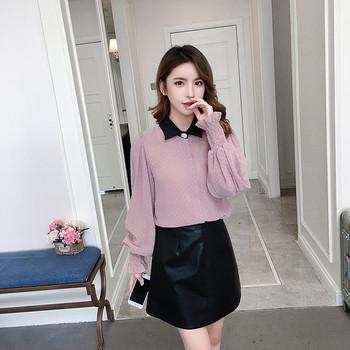 Стилна дамска риза в три цвята