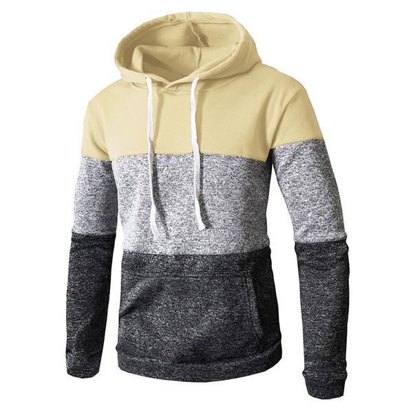 Ανδρικό φούτερ με κουκούλα και μεγάλη τσέπη σε διάφορα χρώματα - Badu.gr Ο κόσμος  στα χέρια σου 572f26c54cc