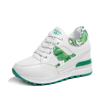 Γυναικεία αθλητικά πάνινα παπούτσια με πολύχρωμα στοιχεία - Badu.gr ... 69ce6e83428