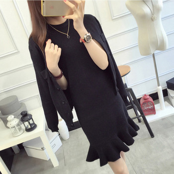 71e04425cda0 Γυναικείο σετ σε διάφορα χρώματα - φόρεμα και ζακέτα - Badu.gr Ο ...