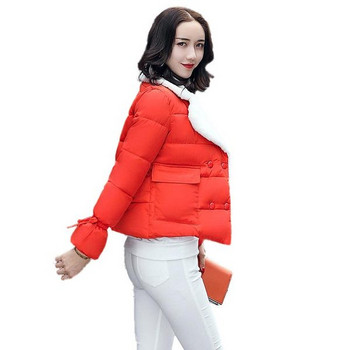 ΝΕΟ μοντέλο χειμερινό μπουφάν με μαλακό κολάρο και μεγάλες τσέπες σε διάφορα χρώματα