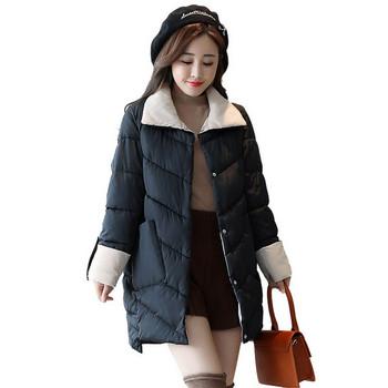 ΝΕΟ μοντέλο ζεστό γυναικείο μπουφάν σε τρία χρώματα