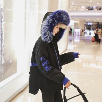 ΝΕΟ μοντέρνο γυναικείο μπουφάν με κουκούλα - τέσσερα χρώματα