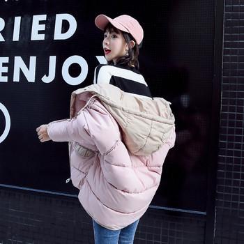 Ежедневно дамско яке с качулка в пет цвята