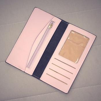 Γυναικείο πορτοφόλι με τρισδιάστατο στοιχείο σε διάφορα χρώματα
