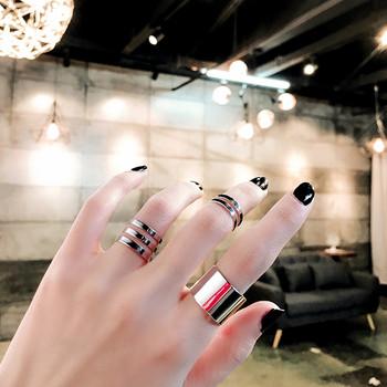 Комплект от три броя дамски пръстени