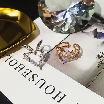 Дамски пръстен с цветни камъни в два модела