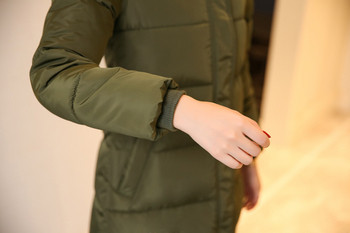 Дълго дамско зимно яке в няколко модела