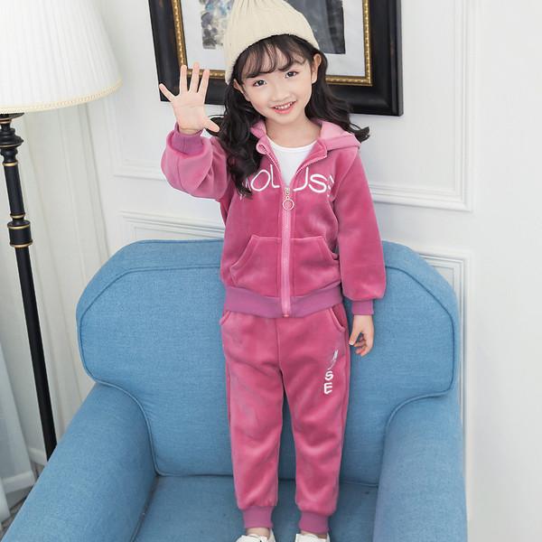 Παιδικό σετ για κορίτσια σε τρία χρώματα - ροζ 4c0d5edb4f8