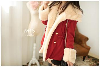 Зимно дамско палто с топла подплата в три цвята