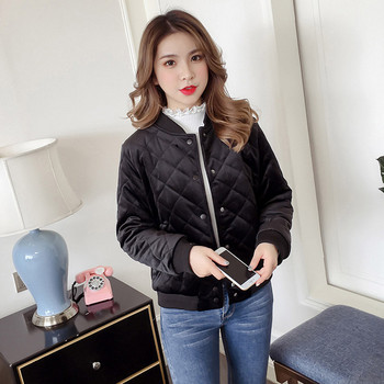 Γυναικείο κομψό μπουφάν σε διάφορα χρώματα - δύο μοντέλα