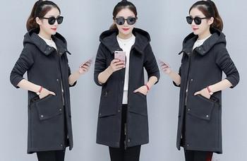 Γυναικείο κομψό μακρύ παλτό σε διάφορα χρώματα - Badu.gr Ο κόσμος ... 5dd25becb6b