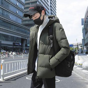 Ежедневно мъжко яке с плътна потплата в четири цвята