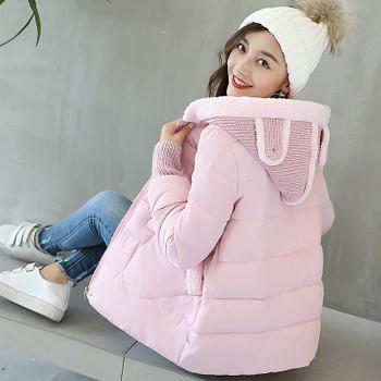 ΝΕΟ μοντέρνο γυναικείο μπουφάν με τρισδιάστατο στοιχείο σε διάφορα χρώματα