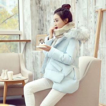 Νέο κομψό γυναικείο μπουφάν με κουκούλα σε τέσσερα χρώματα