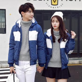 Μοντέρνο χειμερινό μπουφάν σε τρία χρώματα, κατάλληλο για άνδρες και γυναίκες