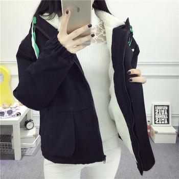 Дамско яке с мека подплата и качулка-два модела