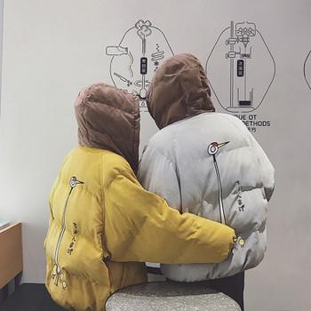 Νέο χειμωνιάτικο μπουφάν  για άνδρες και γυναίκες  - δύο χρώματα
