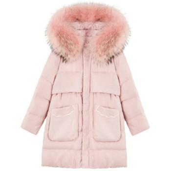 Γυναικείο σακάκι με κουκούλα χειμώνα σε τρία χρώματα