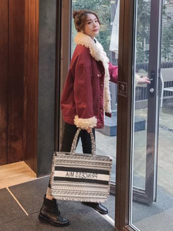 Κυρίες κομψό σακάκι με απαλή επένδυση σε τρία χρώματα