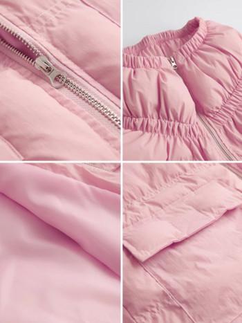 Модерно дамско яке без качулка в няколко цвята