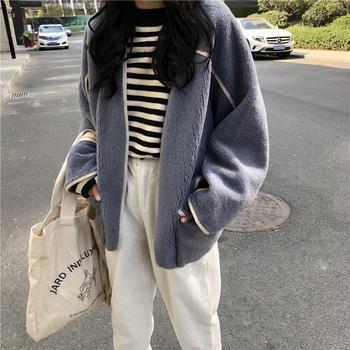 Μοντέρνο γυναικείο μπουφάν σε τρία χρώματα