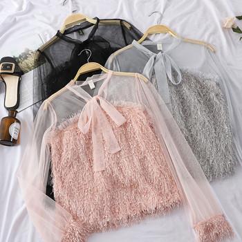 Модерна дамска риза в различни цветове
