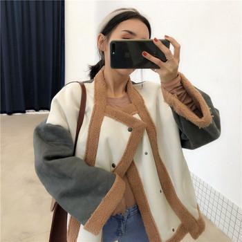 Μοντέρνο μοντέλο για το μοντέρνο γυναικείο μπουφάν