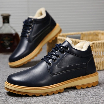 Casual ανδρικές χειμερινές μπότες σε τρία χρώματα - Badu.gr Ο κόσμος ... 46f83cbccb4