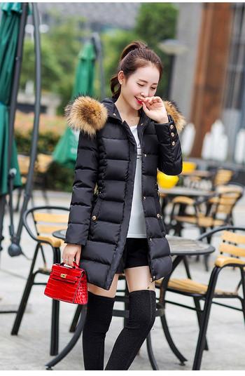 Елегантно дамско яке с колан в четири цвята