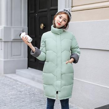 Γυναικείο σακάκι μόδας με κολάρο σε σχήμα Τ σε τρία χρώματα