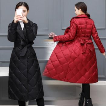 Νέο γυναικείο μπουφάν με κορδέλα σε διάφορα χρώματα