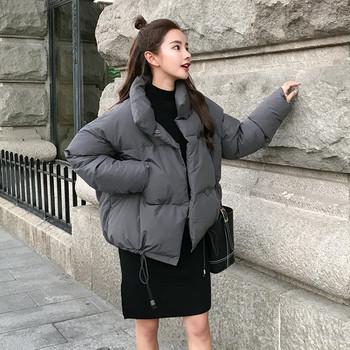 Γυναικείο σακάκι μόδας με κολάρο σε σχήμα Ο σε διάφορα χρώματα