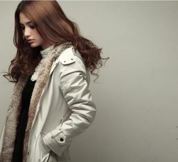 Дамско зимно яке с мека подплата в три цвята