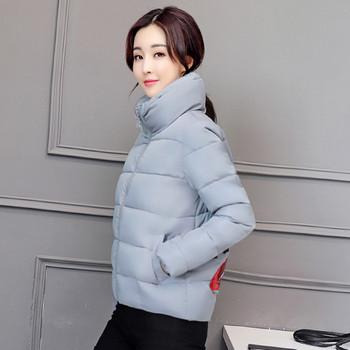 Μοντέρνο γυναικείο μπουφάν με κεντήματα στο πίσω μέρος σε διάφορα χρώματα