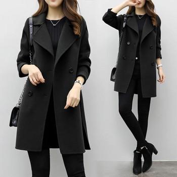 Ежедневно дамско палто в три цвята
