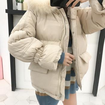 Μοντέρνο σακάκι με κουκούλα σε τρία χρώματα