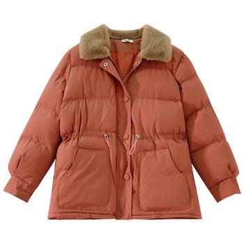 Χειμερινό σακάκι με μαλακό κολάρο σε διάφορα χρώματα