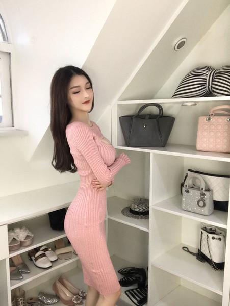 Κυρίες κομψό φόρεμα σε ροζ χρώμα - Badu.gr Ο κόσμος στα χέρια σου a087aed9f6e
