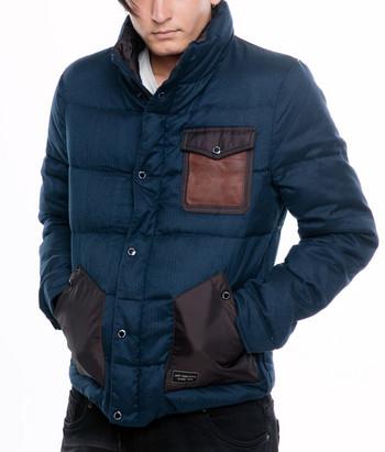 НОВ модел уникално мъжко яке в сив, син и черен цвят