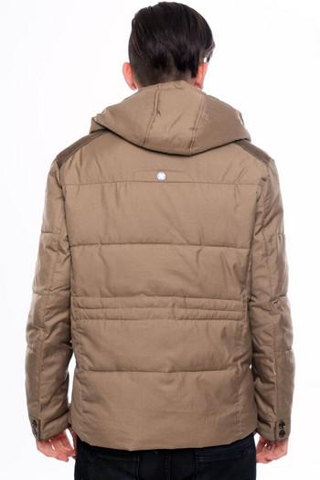 НОВО мъжко яке за есента и зимата в кафяв и черен цвят