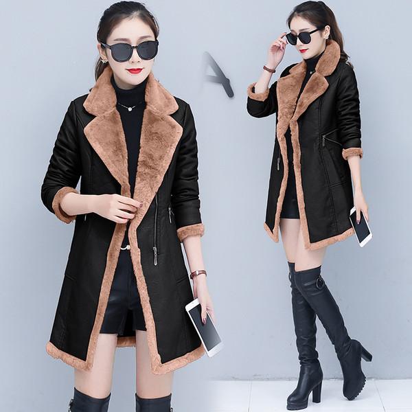 Μοντέρνο δερμάτινο παλτό με απαλή επένδυση σε διάφορα χρώματα - Badu.gr Ο  κόσμος στα χέρια σου 4aae4cc8cd7