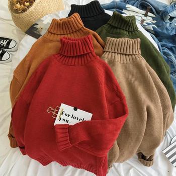 Eжедневен мъжки пуловер в различни цветове