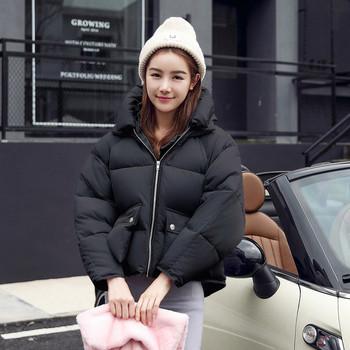Γυναικείο μοντέρνο σακάκι με κουκούλα σε διάφορα χρώματα