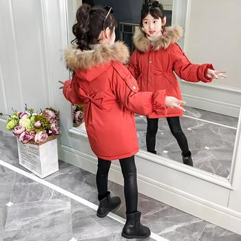 Модерно детско яке за момичета в няколко цвята