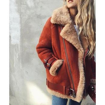 Χειμερινό σακάκι με απαλή επένδυση σε διάφορα χρώματα
