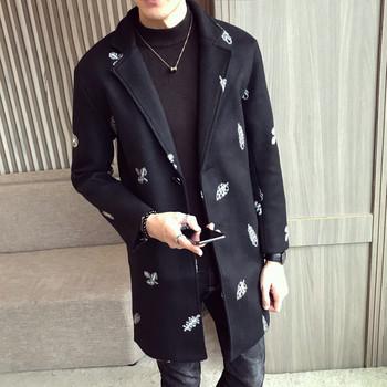 Κομψό ανδρικό παλτό με κεντήματα - δύο μοντέλα - Badu.gr Ο κόσμος ... deafc23c0d5