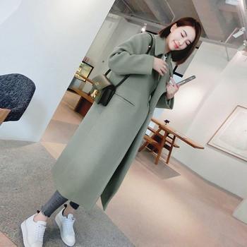Дамско стилно палто в четири цвята