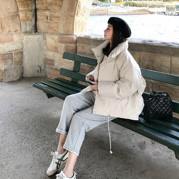 Спортно-ежедневно дамско яке широк модел в няколко цвята